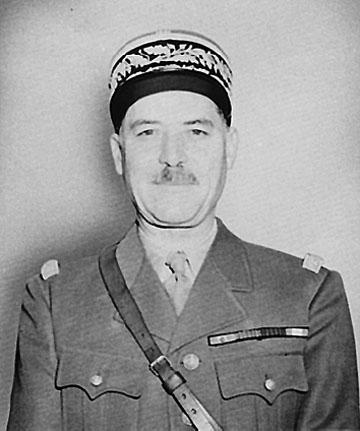 Général Juin, commandant en chef des forces de l'armée française en Afrique du Nord [WikimediaCommons, domaine public]