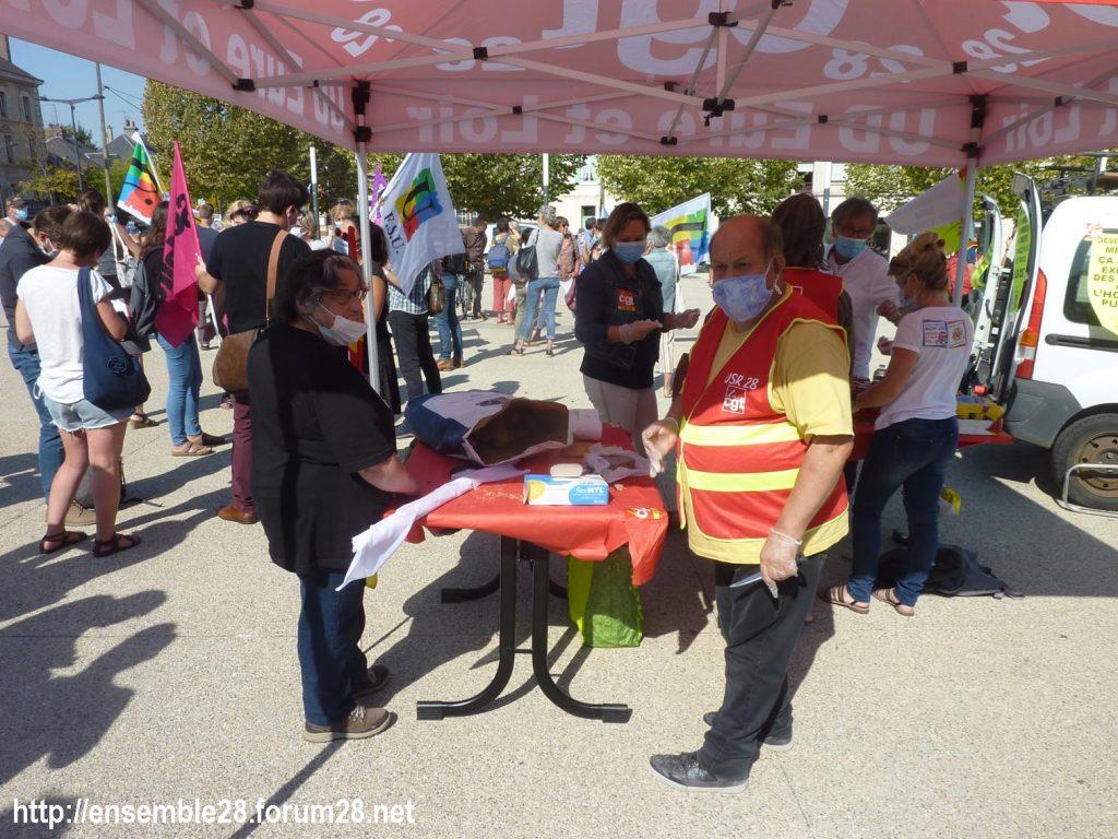 Chartres 17-09-2020 Rassemblement Pique-nique 1