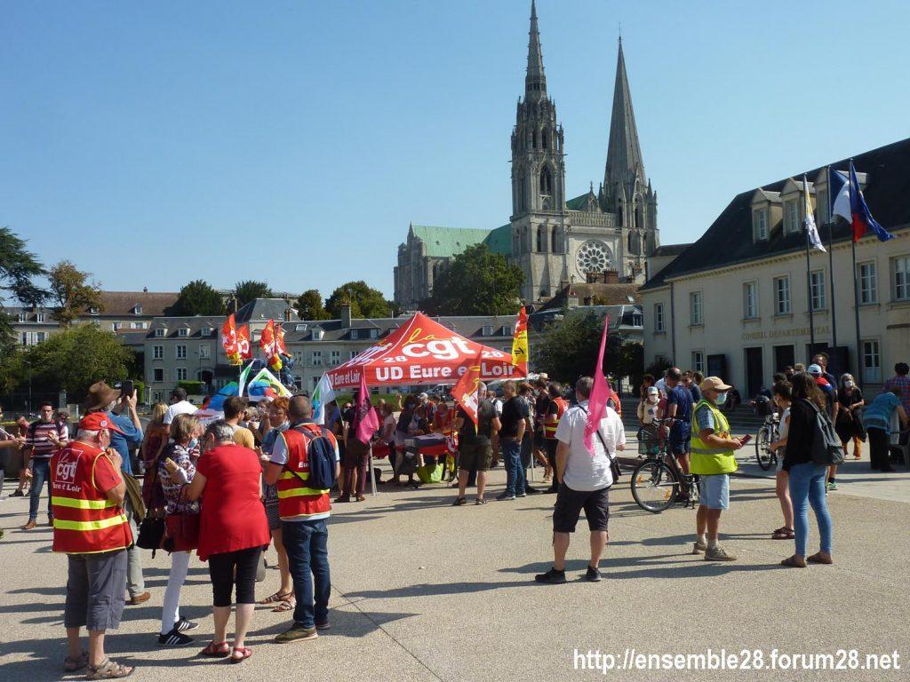 Chartres 17-09-2020 Rassemblement Pique-nique 3