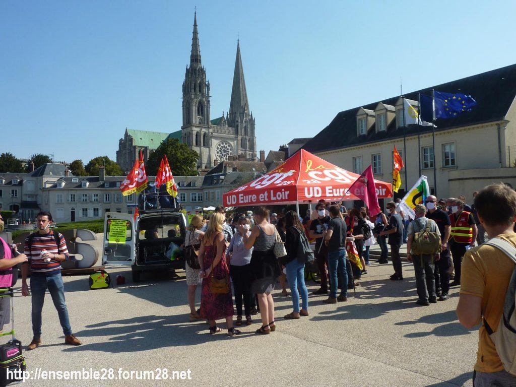 Chartres 17-09-2020 Rassemblement Pique-nique 5