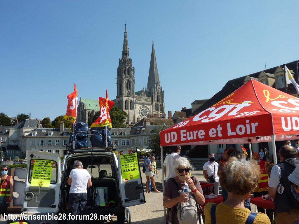 Chartres 17-09-2020 Rassemblement Pique-nique 6