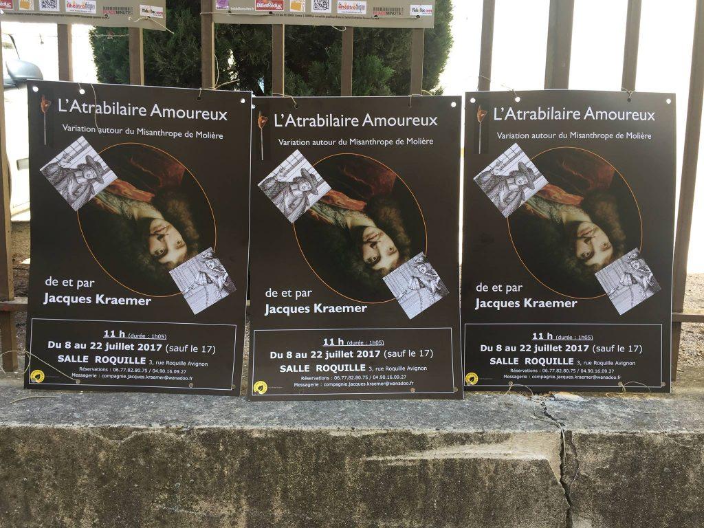 L'Atrabilaire amoureux [Affiche Avignon]