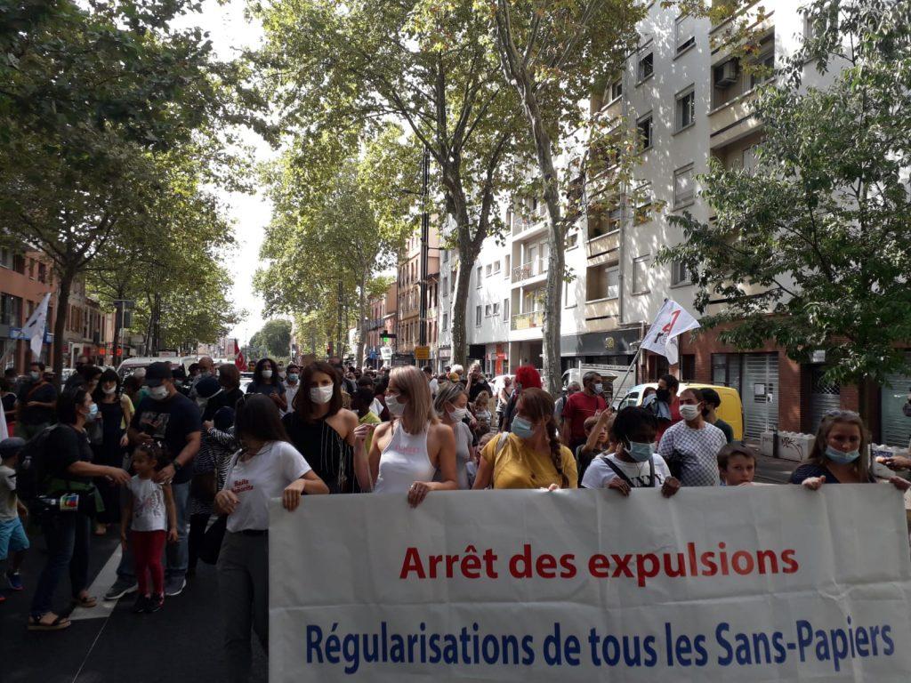 Manif de soutien Toulouse 19-09-2020