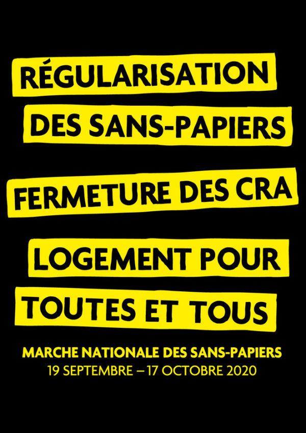 Marche-des-Sans-Papiers 2020 [Affiche verticale]