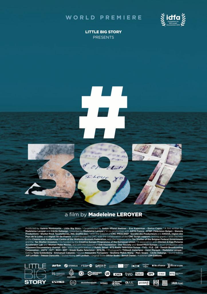 Sujet Numéro 387, disparu en Méditerranée [Affiche in english]