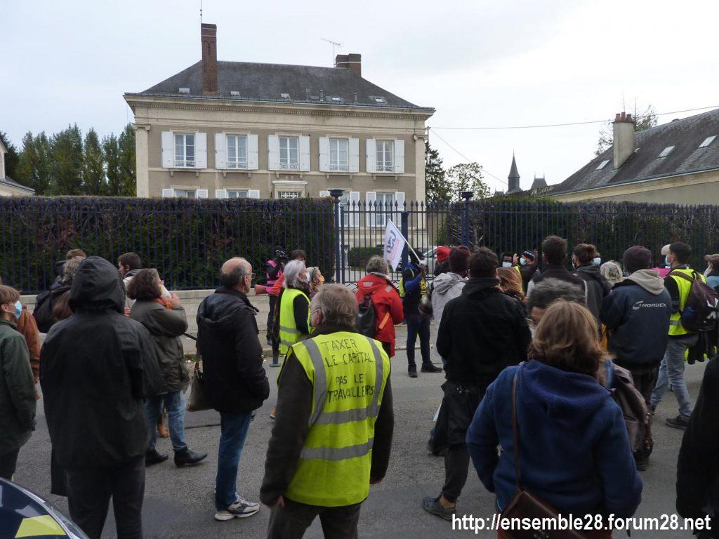2020-10-12 Marche Sans-Papiers Nogent-le-Rotrou Photo 10