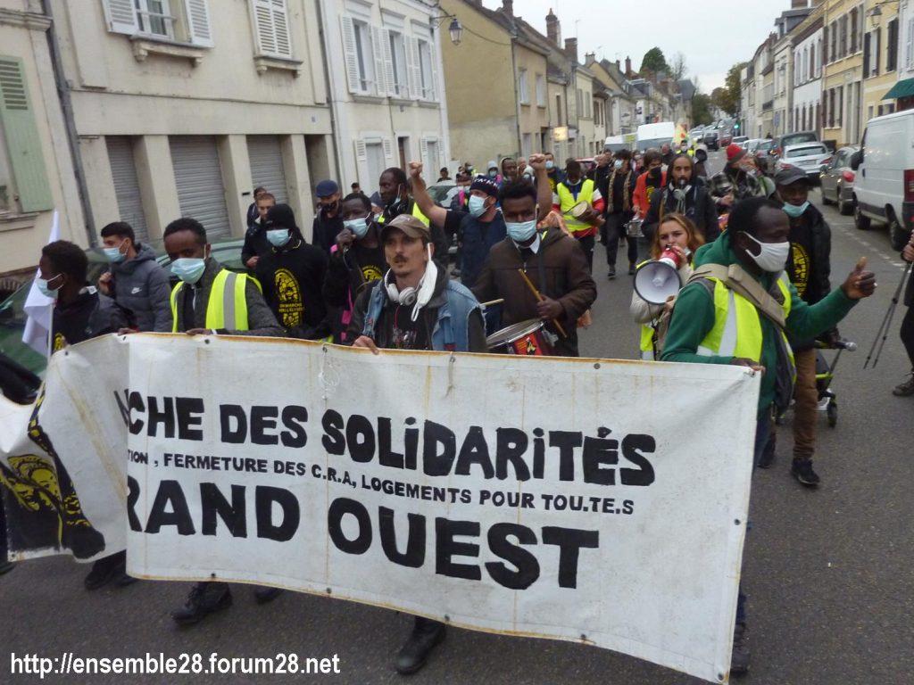 2020-10-12 Marche Sans-Papiers Nogent-le-Rotrou Photo 2