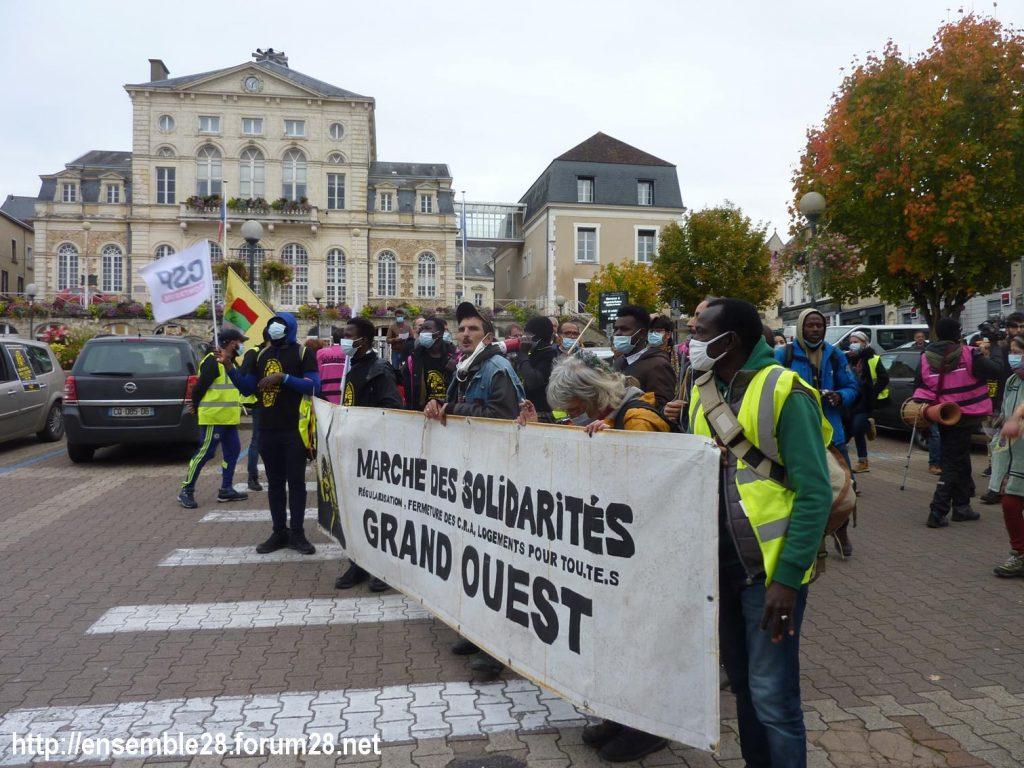 2020-10-12 Marche Sans-Papiers Nogent-le-Rotrou Photo 3