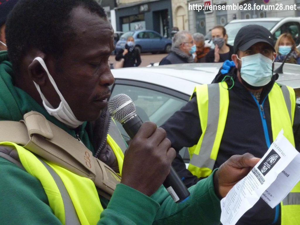 2020-10-12 Marche Sans-Papiers Nogent-le-Rotrou Photo 7