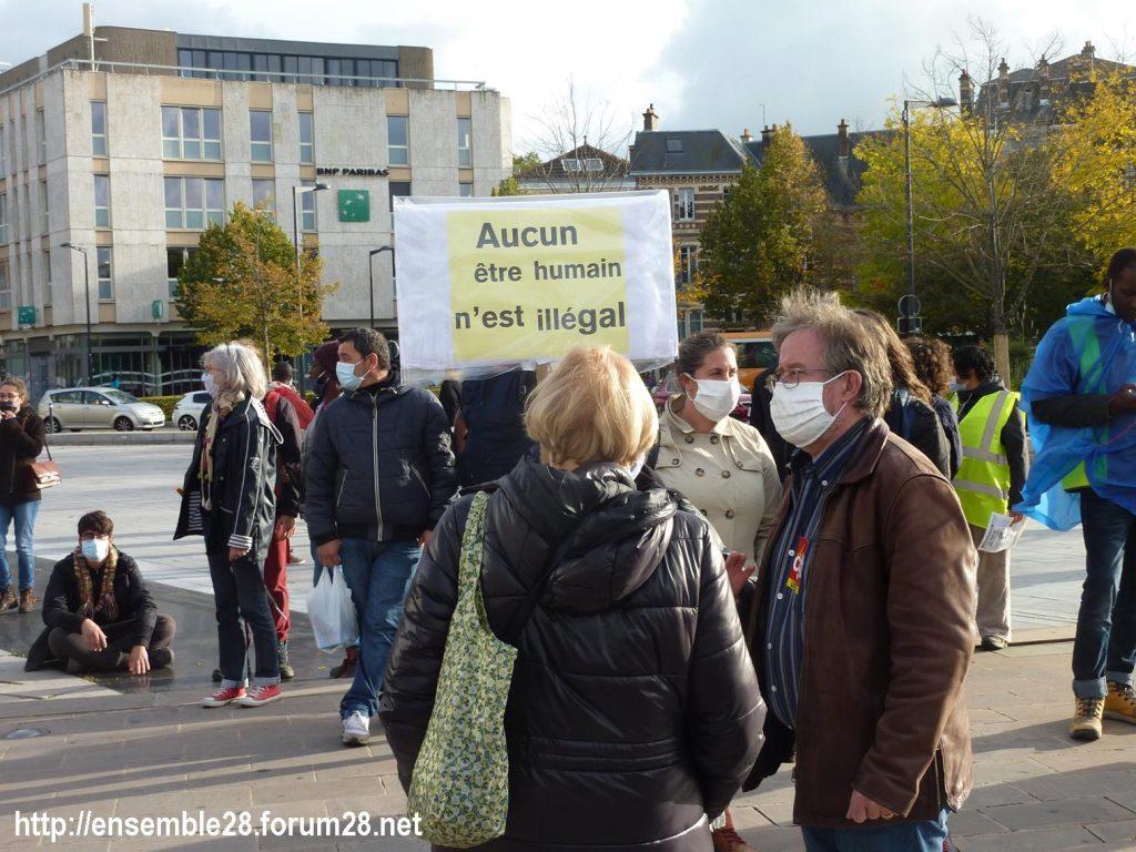 2020-10-13 Marche des Sans-Papiers Chartres 05