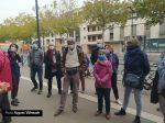 Assassinat Conflans Rassemblement Profs Chartres devant CLG Boucher 17-10-2020 [Photo H.Villemade]
