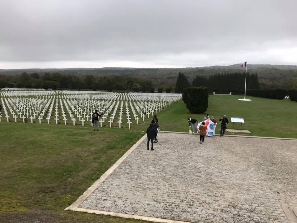 Carré musulman à l'ossuaire de Douaumont 2020-10-12