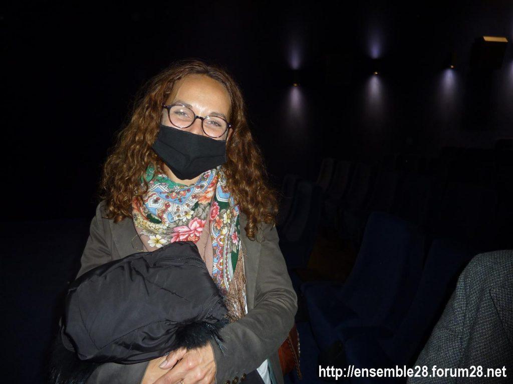 Défi de solidarité 05-10-2020 Caroline Darroquy aux Enfants du Paradis [avec masque]