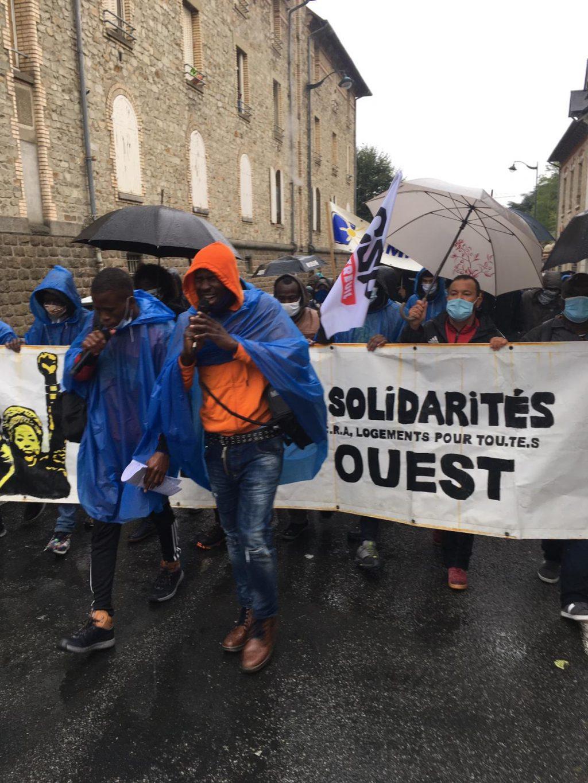 Départ de la Marche de Rennes 03-10-2020 1