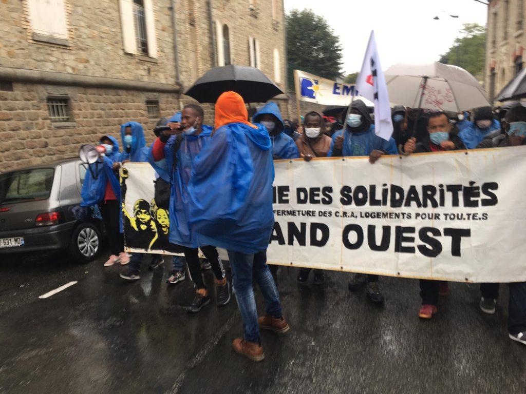 Départ de la Marche de Rennes 03-10-2020 2