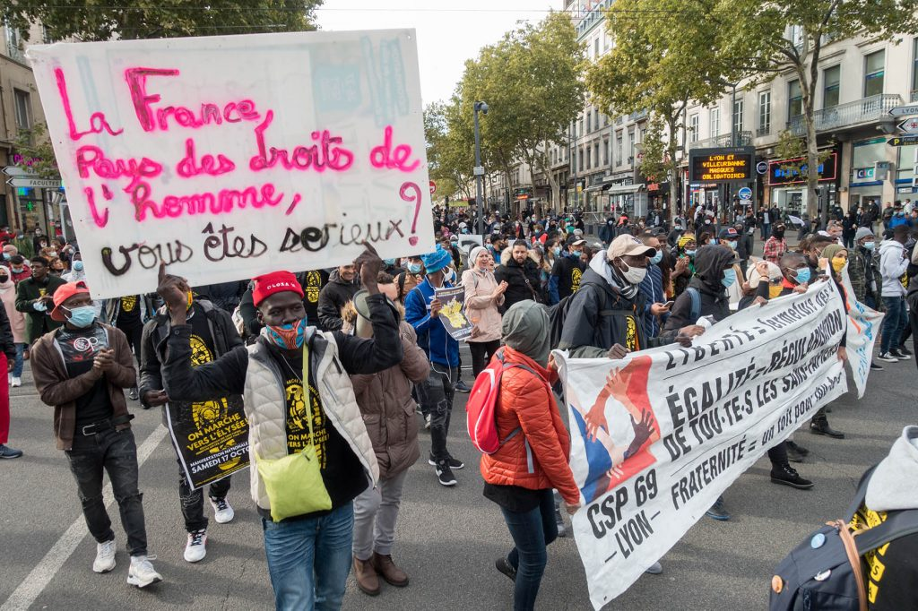 Lyon Manifestation 03-10-2020