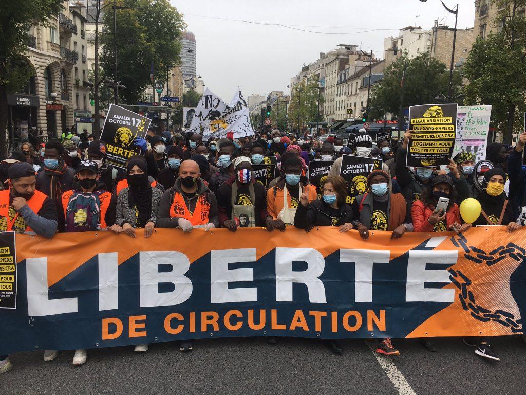 Marche Sans-Papiers Porte d'Italie 2020-10-17 (5)