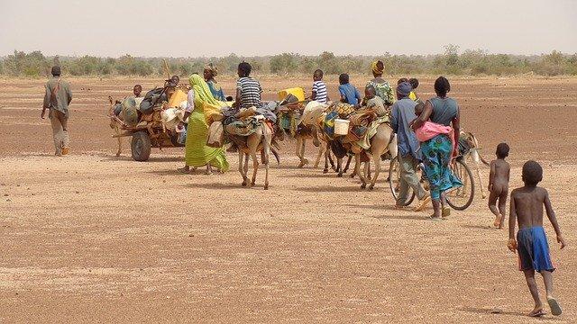 Migration Désert africain