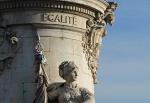 Paris, place de la République Égalité [Coyau,WikimediaCommons]