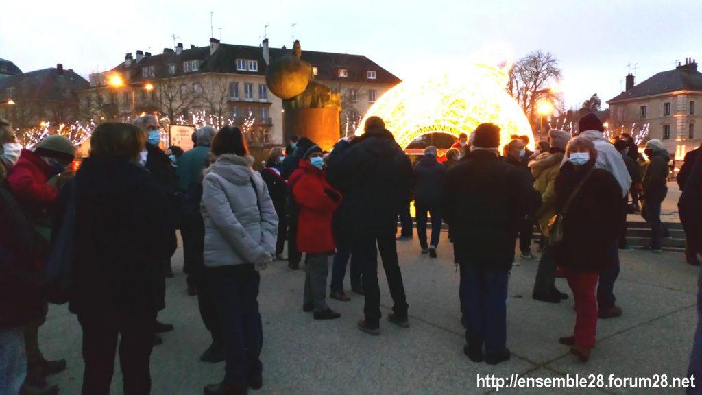 Chartres 09-12-2020 Rassemblement Laïcité 04