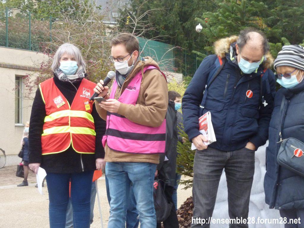Chartres 12-12-2020 Manifestation Sécurité globale 05