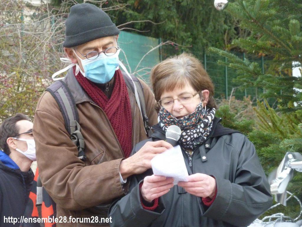Chartres 12-12-2020 Manifestation Sécurité globale 06