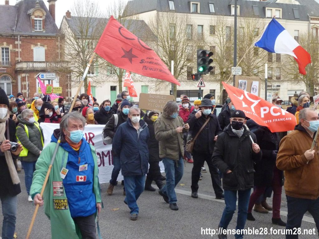 Chartres 12-12-2020 Manifestation Sécurité globale 08