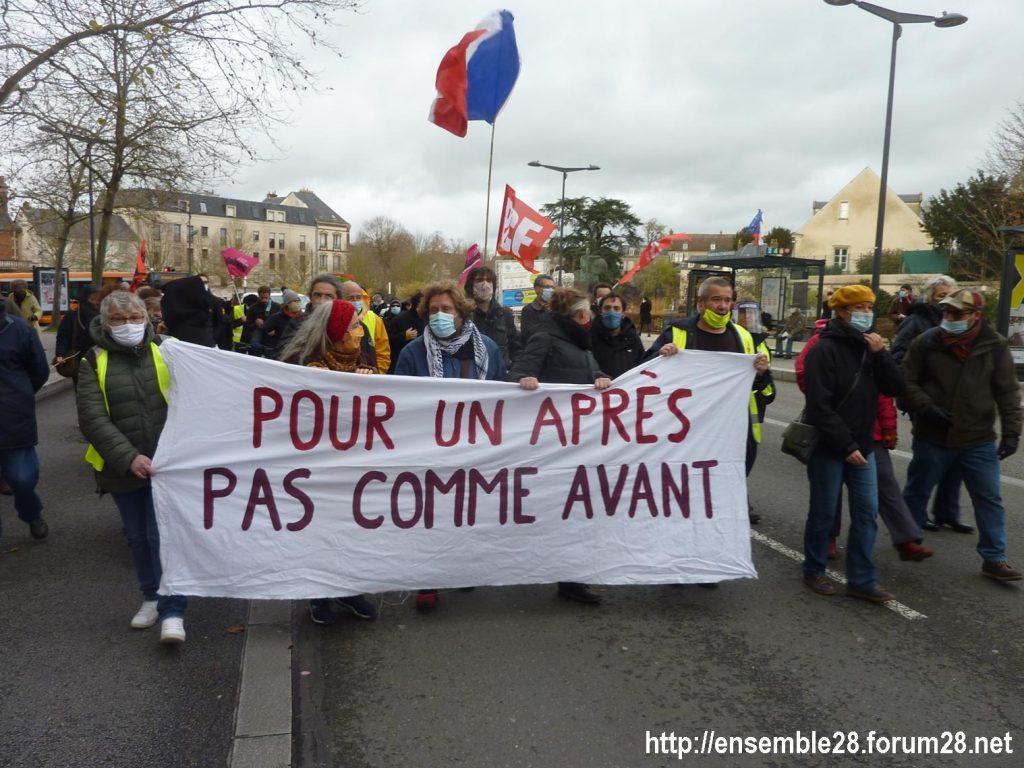 Chartres 12-12-2020 Manifestation Sécurité globale 09