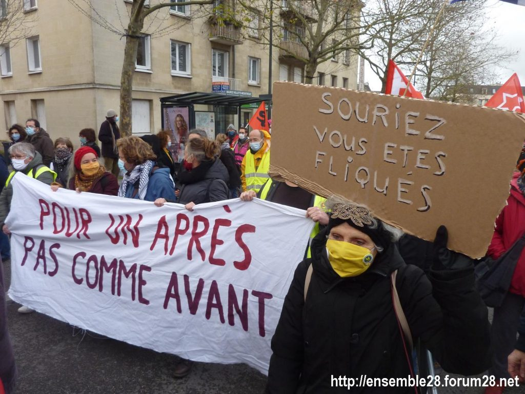 Chartres 12-12-2020 Manifestation Sécurité globale 10