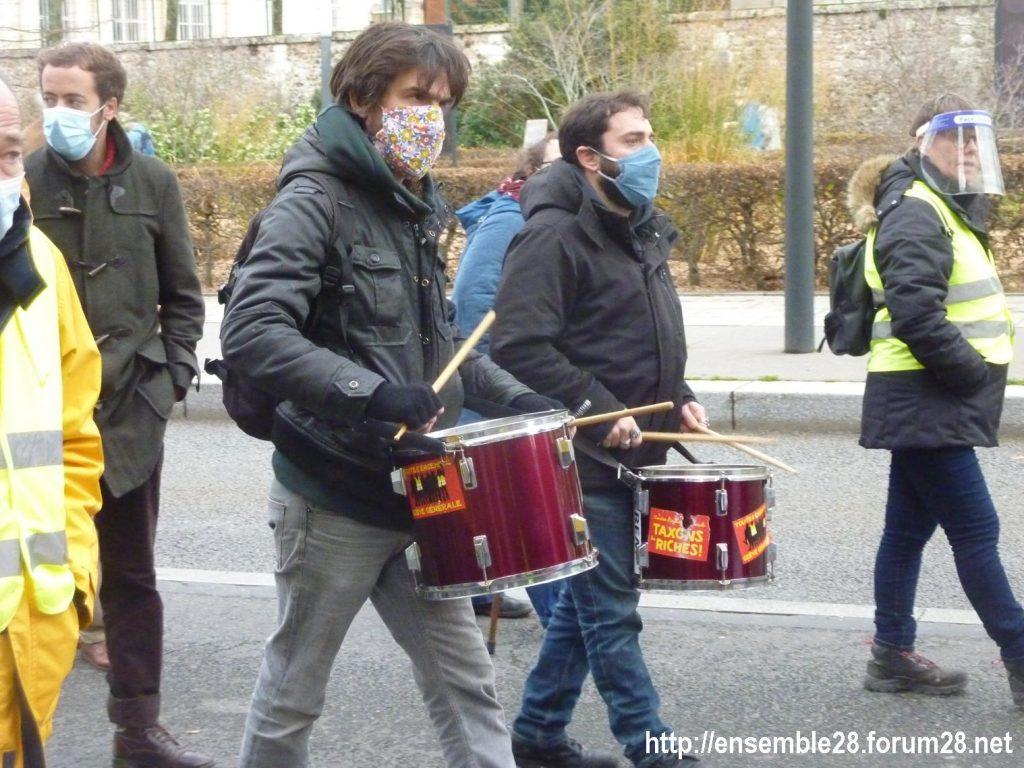 Chartres 12-12-2020 Manifestation Sécurité globale 11