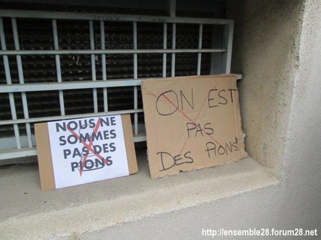 Chartres DSDEN 01-12-2020 Rassemblement AED Adjoints-d'enseignement 03