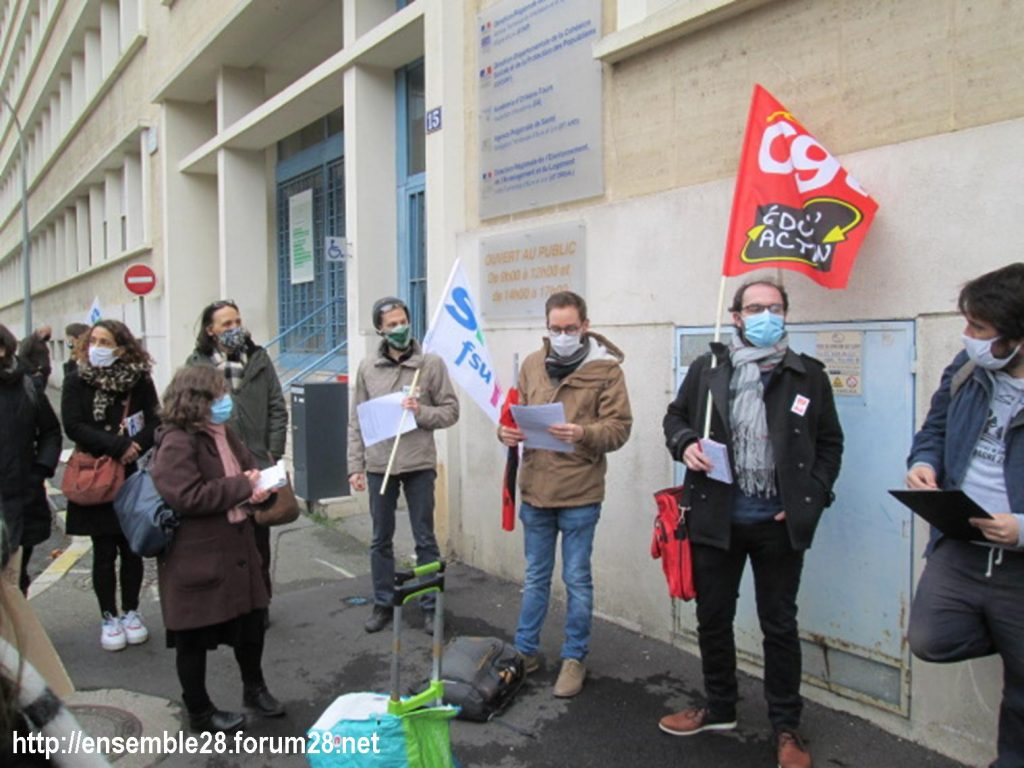 Chartres DSDEN 01-12-2020 Rassemblement AED Adjoints-d'enseignement 08