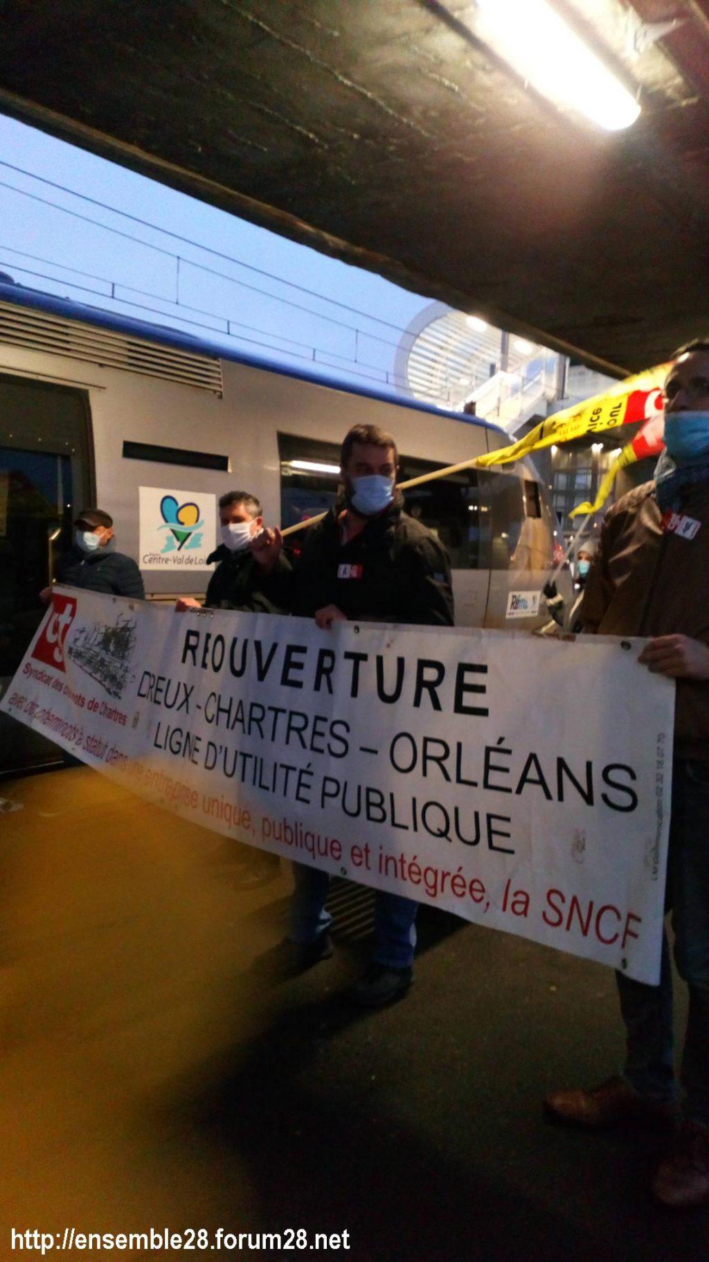 Chartres-Tours 13-12-2020 Premier TER direct 05