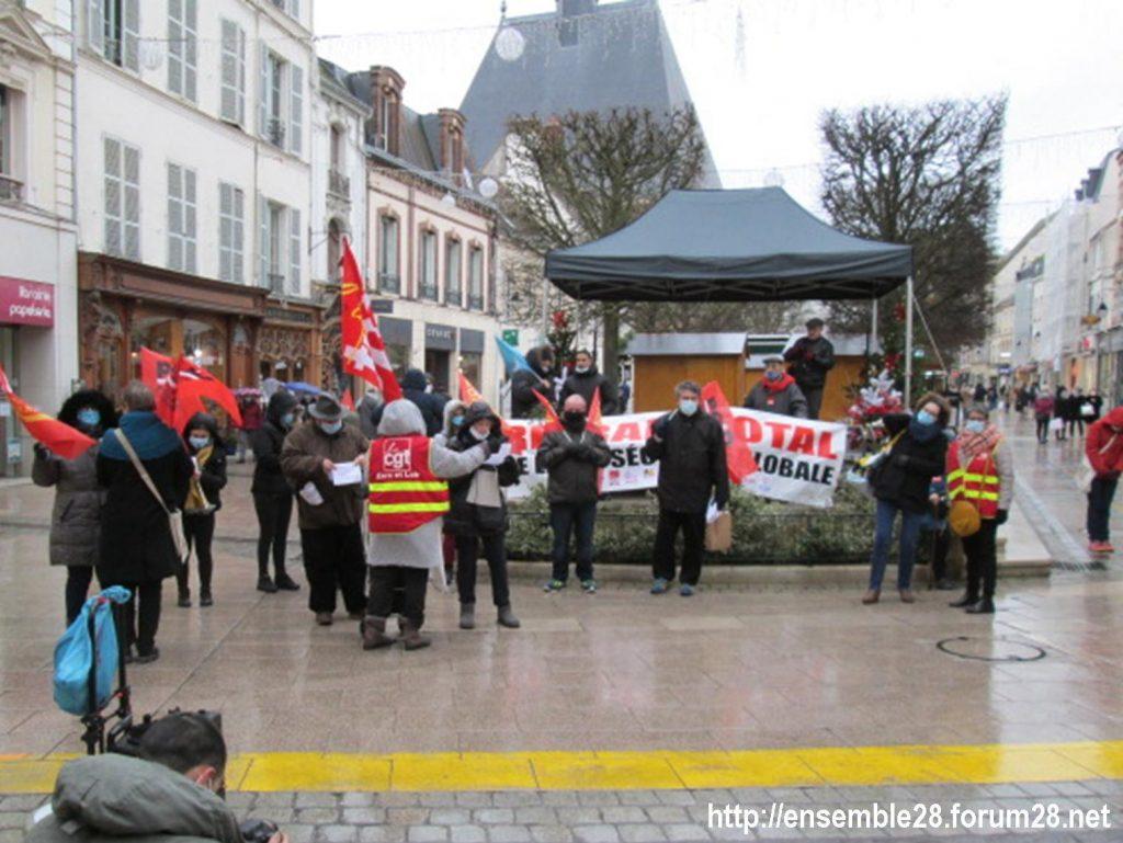 Dreux 05-12-2020 Manifestation Loi Sécurité-globale 06