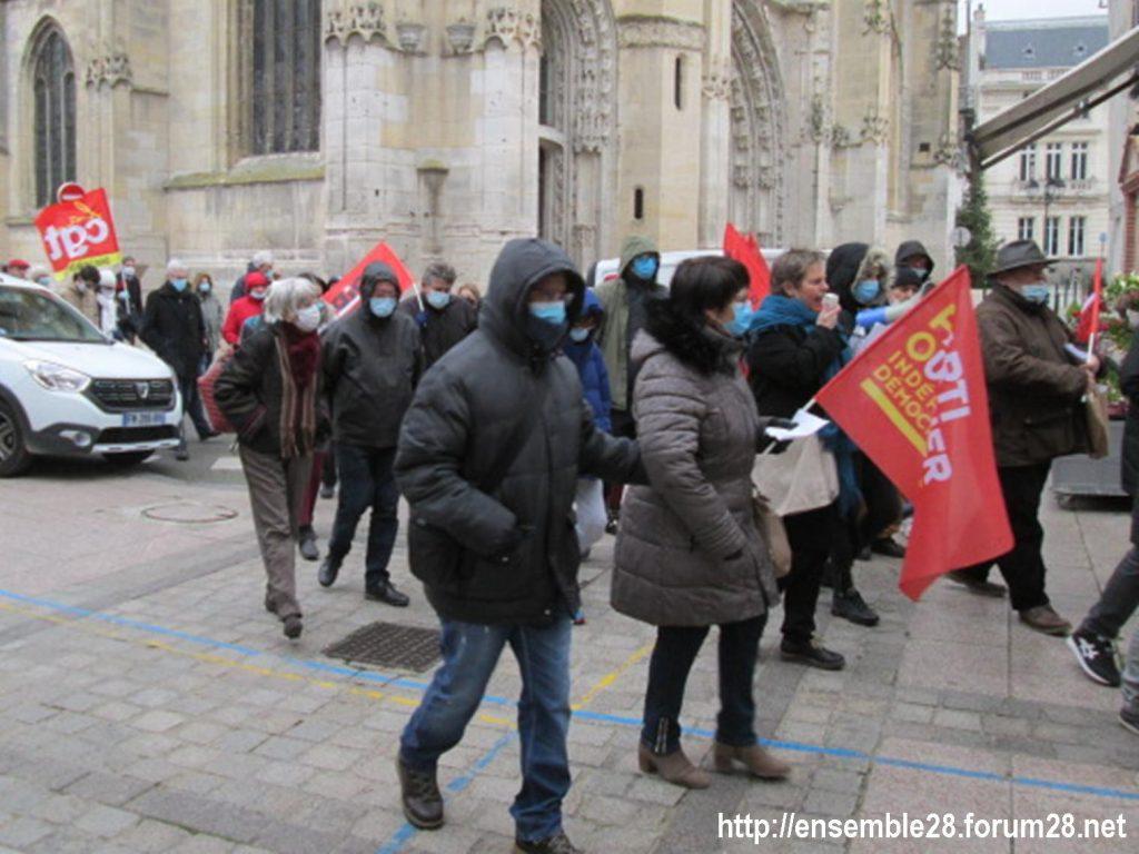 Dreux 05-12-2020 Manifestation Loi Sécurité-globale 08