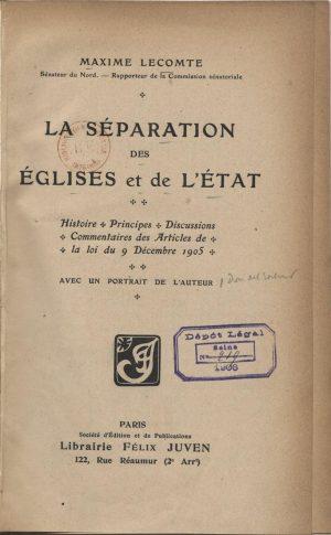 Loi de 1905 [Gallica BnF]