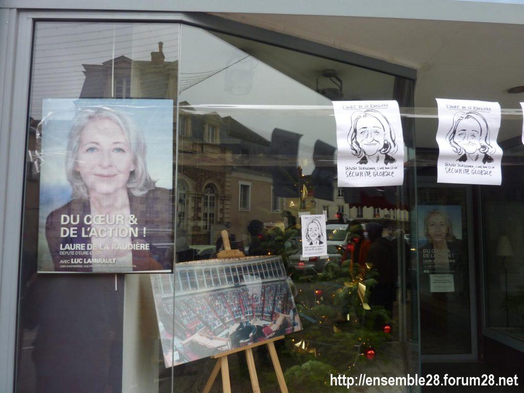 Nogent-le-Rotrou 05-12-2020 Action Permanence Laure de La Raudière 01