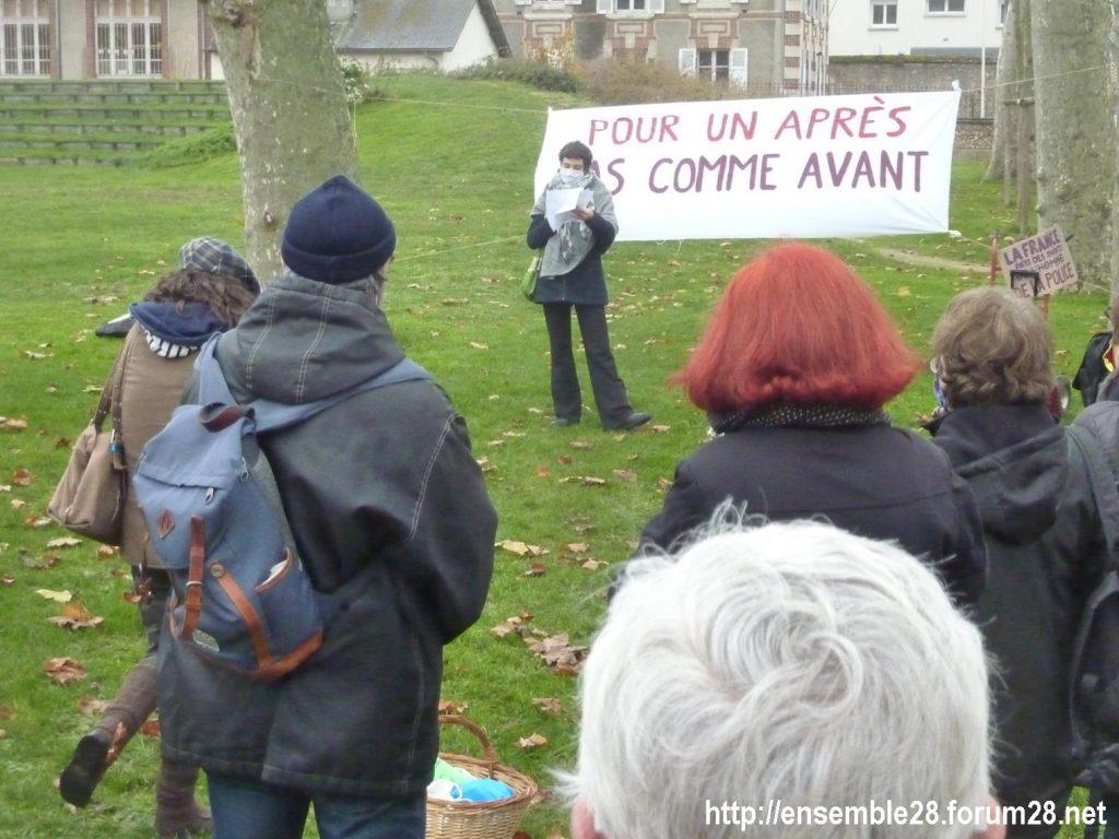 Nogent-le-Rotrou 05-12-2020 Pour un Après pas comme Avant 05