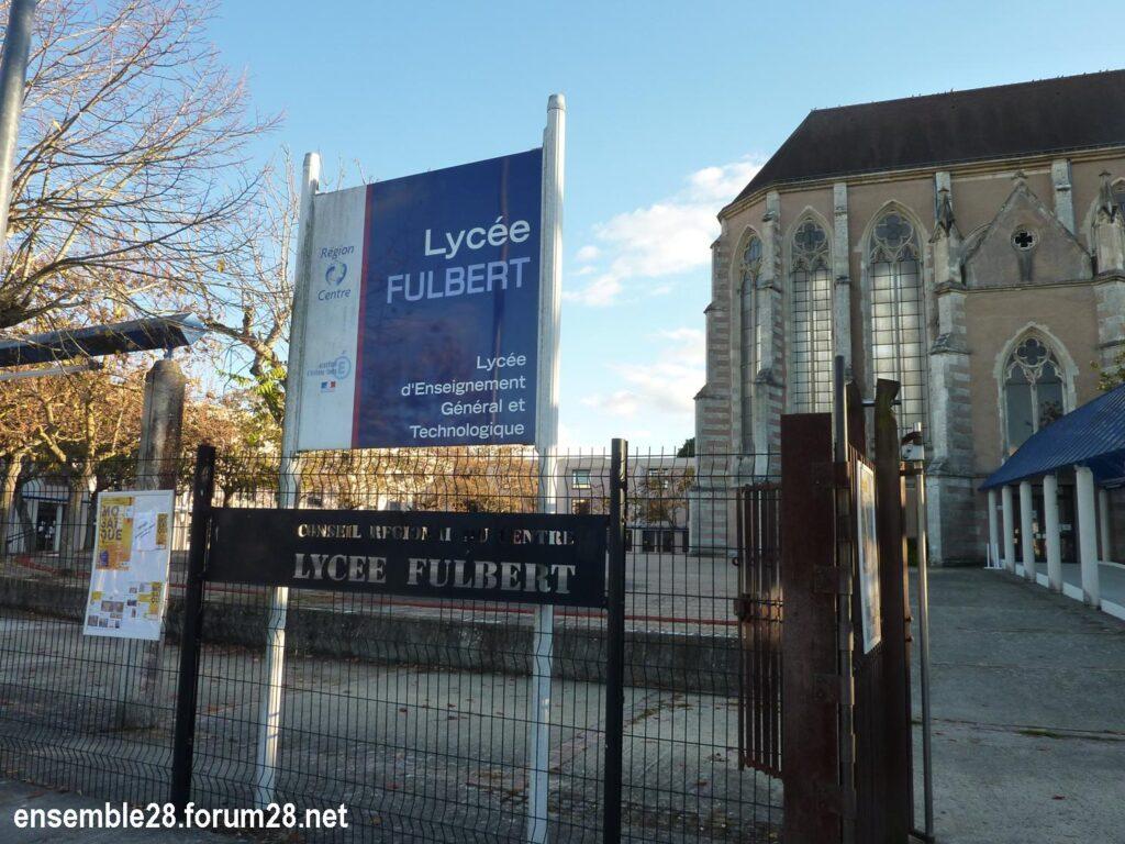 Chapelle désaffectée dans le primètre du lycée Fulbert à Chartres
