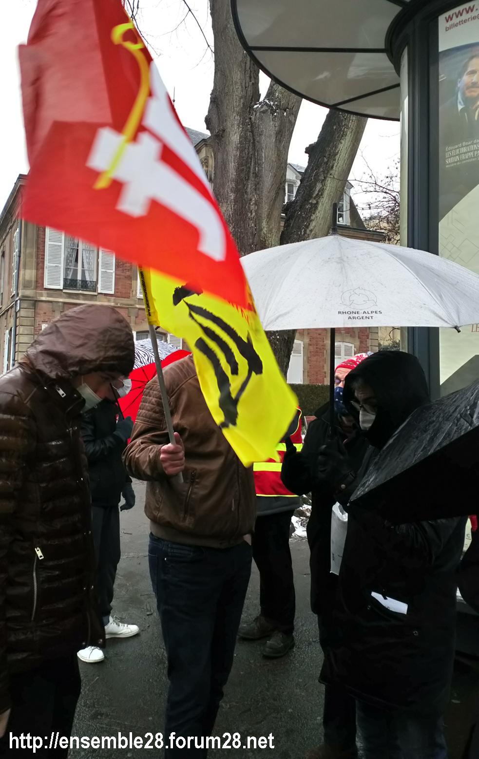 Chartres 16-01-2021 Rassemblement Loi Sécurité 3