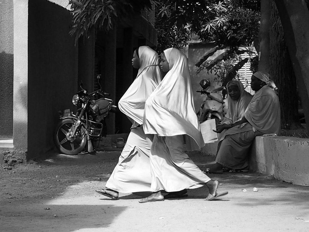 Elèves infirmières, Ecole nationale de santé publique, Niamey, Niger [Photo Christophe Pénicaud]