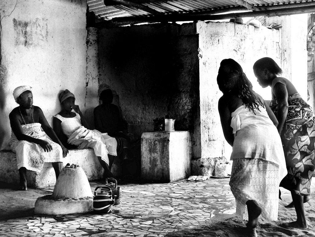 Cérémonie vaudou, Ouidah, Bénin [Photo Christophe Pénicaud]