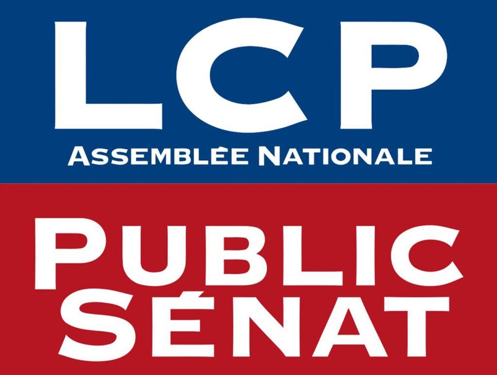 LCP Public Sénat [logo]