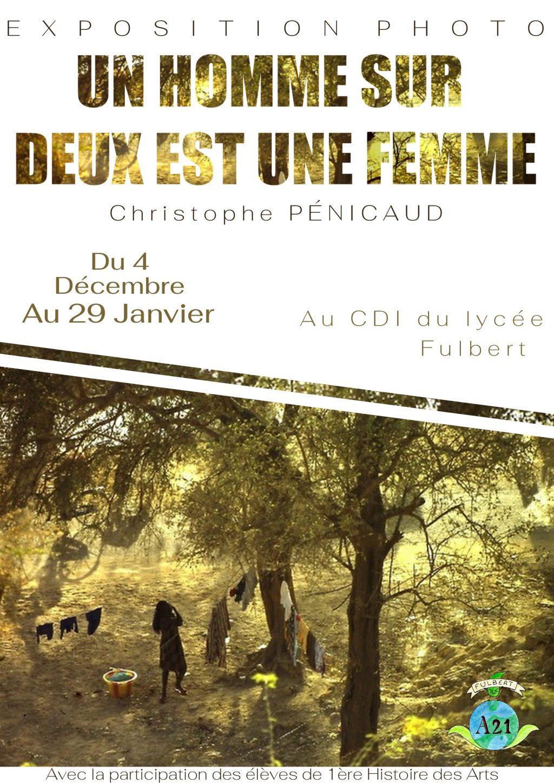 Un homme sur deux est une femme [Affiche Chartres]