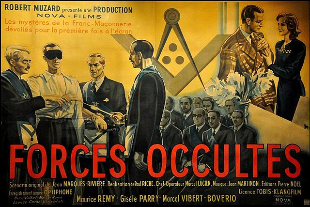 Film Forces occultes [Affiche, 1943]