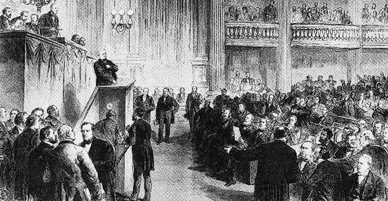 L'Assemblée nationale réunie à Versailles