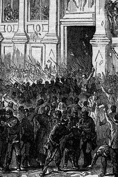 Le_31_octobre_1870 Soulèvement parisien