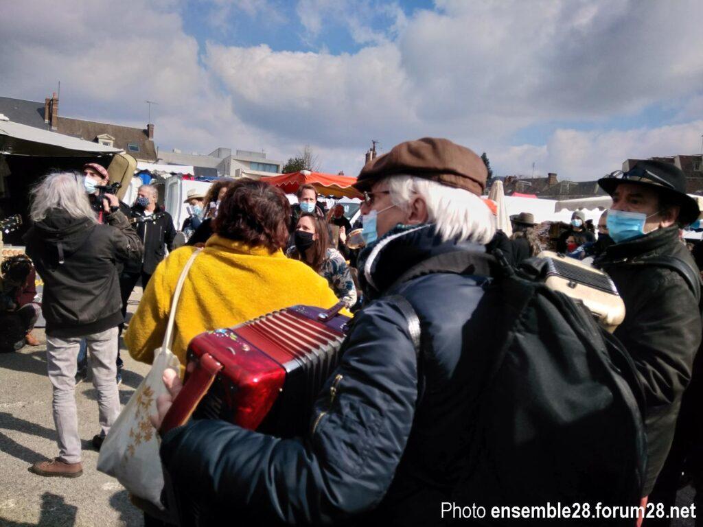Nogent-le-Rotrou 20-03-2021 Flashmob Culture