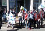 Chartres 08-04-2021 Rassemblement AESH avec Intermittents