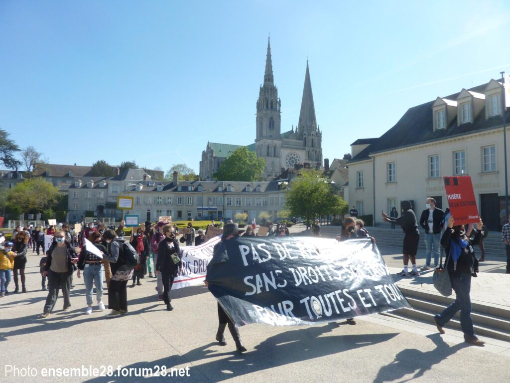 Chartres 24-01-2021 Intermittents Plus Grand Orchestre silencieux